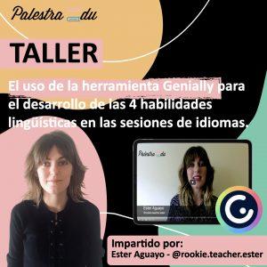 Ester Aguayo palestraedu